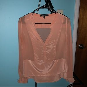 BCBG blush pink blouse!